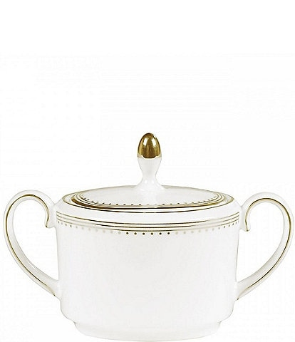 Vera Wang Wedgwood Grosgrain Covered Sugar Bowl