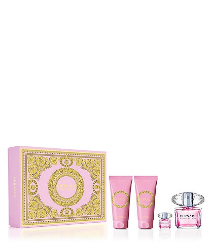 Versace Bright Crystal 4-Piece Gift Set