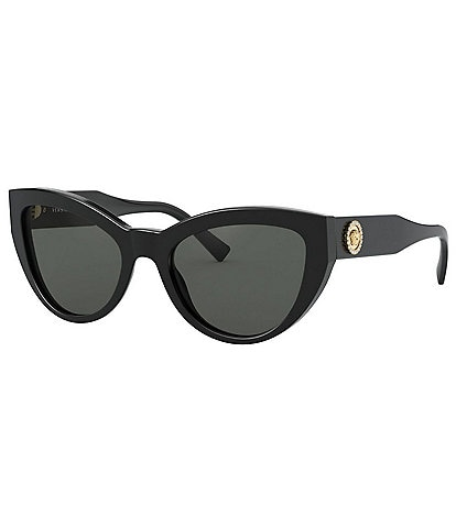 Versace Cat Eye Medusa Crystal Sunglasses