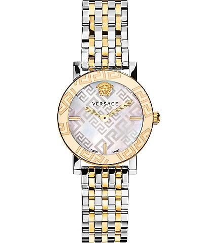 Versace Greca Glass Bracelet Watch