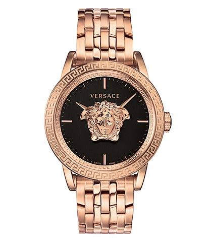 Versace Men's Palazzo Empire Watch Rose Gold Watch