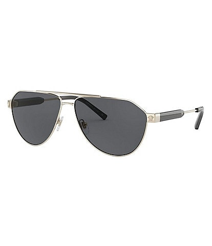 Versace Men's Pilot 62mm Sunglasses