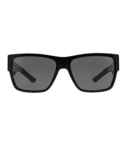 Versace Rock Greca Square Sunglasses