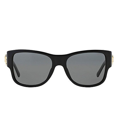 Versace Rock Icon Grey Lens Sunglasses