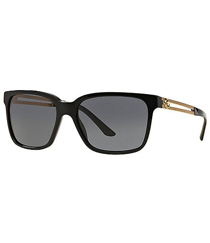 Versace Men's Vintage Vanitas Square Sunglasses