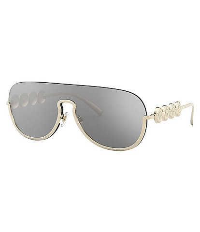 Versace Pilot Shield Sunglasses