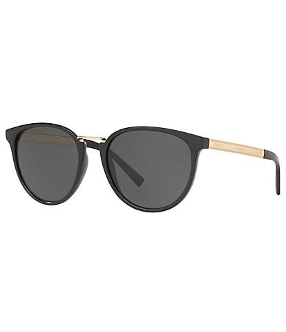 Versace Rock Icon Round Sunglasses