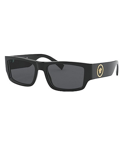 Versace Rock Icons Rectangular Sunglasses