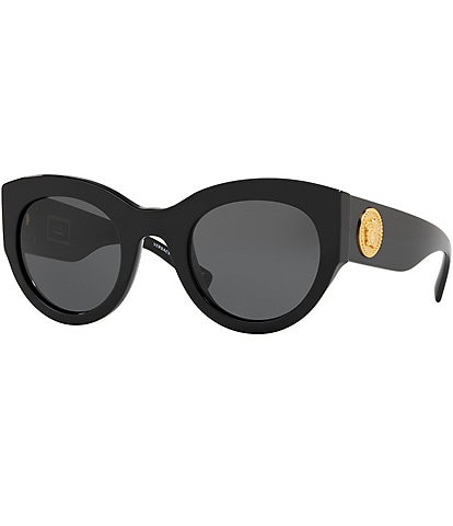 Versace Vintage Tribute Medusa Cat Eye Sunglasses