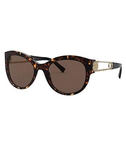 Versace Women's Cat Eye 55mm Sunglasses