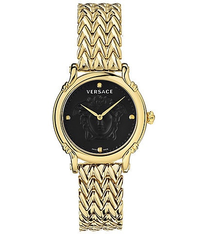 Versace Women's Medusa Gold Bracelet Watch