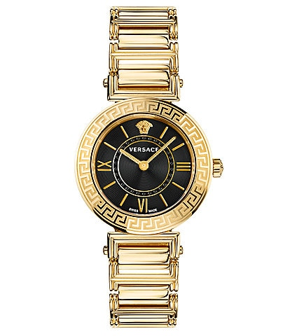 Versace Women's Tribute Gold Bracelet Watch