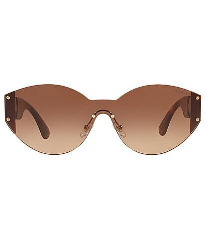 Versace Women's Ve2224 Irregular Rimless Gradient Sunglasses