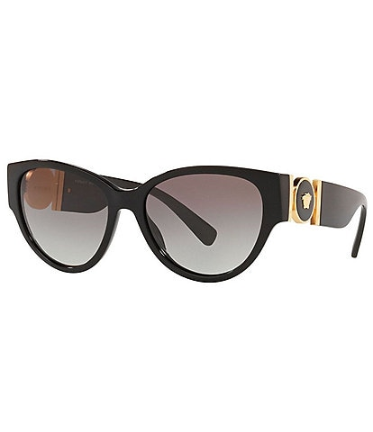 Versace Women's Ve4368 Cat Eye Acetate 56mm Sunglasses