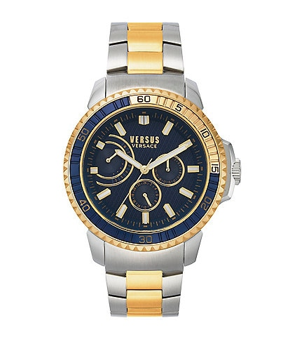 Versus by Versace Men's Averdeen Two Tone Bracelet Watch
