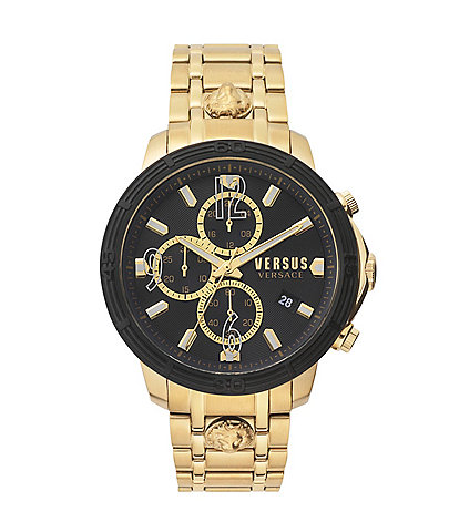 Versus by Versace Men's Bicocca Gold Bracelet Watch