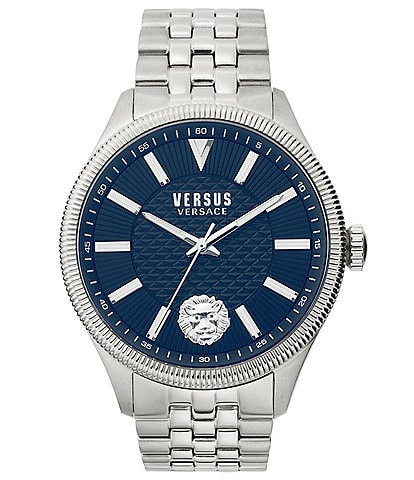 Versus by Versace Men's Colonne Silver Bracelet Watch