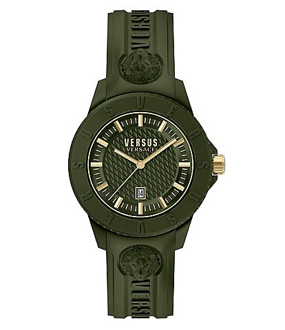 Versus by Versace Tokyo R Green Silicone Watch