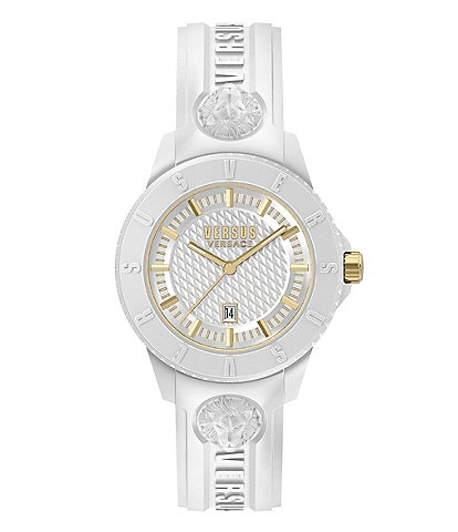 Versus by Versace Tokyo R White Silicone Watch