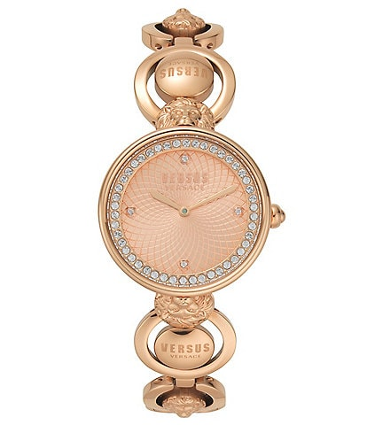 Versus by Versace Victoria Harbour Rose Gold Bracelet Watch