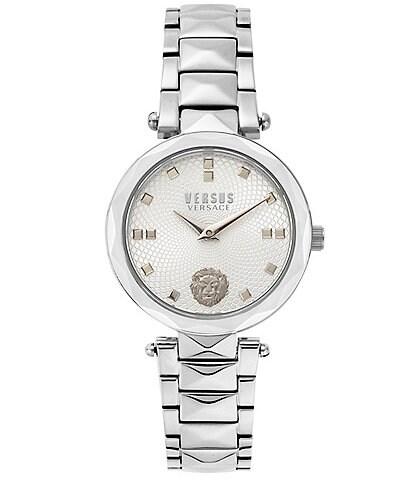 Versus by Versace Women's Covent Garden Silver Bracelet Watch