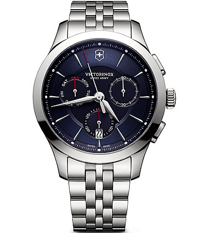 Victorinox Swiss Army Alliance Chronograph & Date Stainless Steel Bracelet Watch