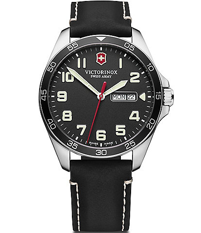 Victorinox Swiss Army Field Force Black Strap Multifunction Watch