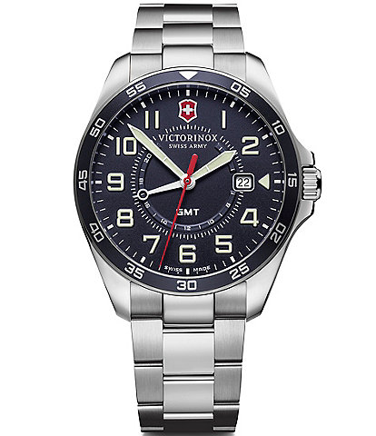 Victorinox Swiss Army Field Force Stainless Steel Bracelet Watch