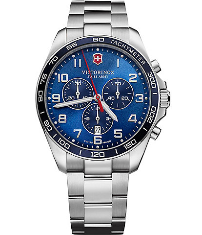 Victorinox Swiss Army Fieldforce Classic Chronograph Blue Dial Watch