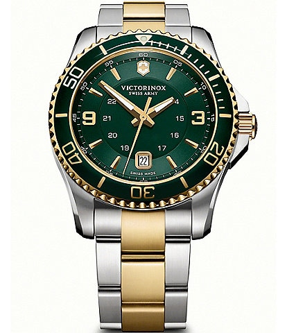 Victorinox Swiss Army Maverick Two-Tone Bracelet Watch