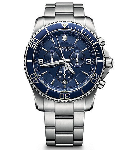 Victorinox Swiss Army Maverick Chronograph Bracelet Watch