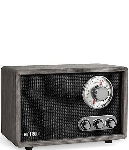 Victrola Linden Wood Bluetooth Radio