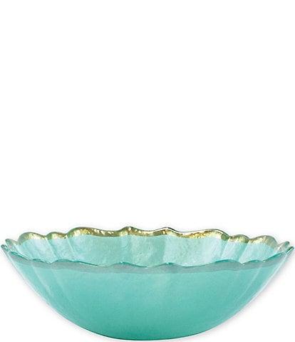 VIETRI Baroque Glass Small Bowl