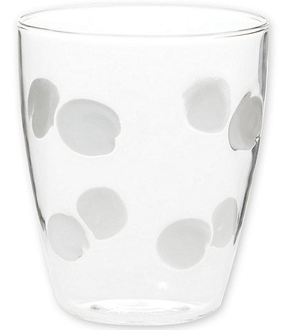 VIETRI Drop Glass Short Tumbler