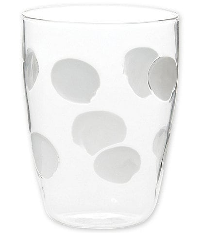 VIETRI Drop Glass Tall Tumbler