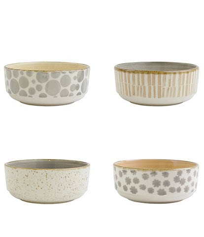 VIETRI Earth Assorted Small Bowls Set of 4