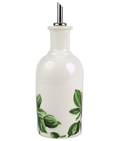 VIETRI Erbe Basil Olive Oil Bottle