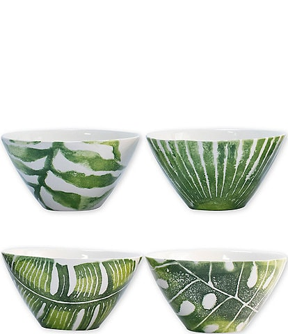 VIETRI Into the Jungle Assorted Cereal Bowls
