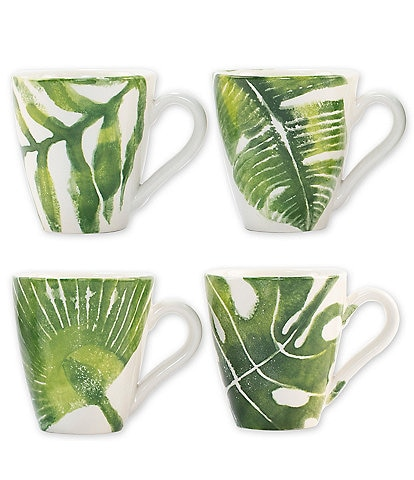 VIETRI Into the Jungle Assorted Mugs