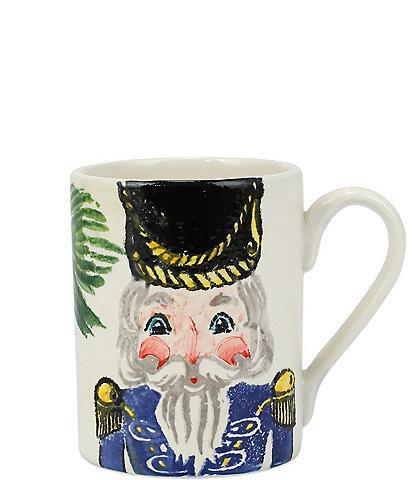 VIETRI Nutcrackers Blue Mug