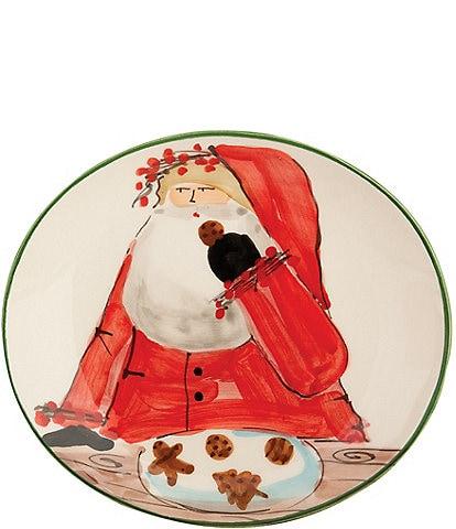 Vietri Old St. Nick Cookie Plate