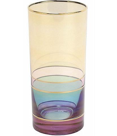 VIETRI Regalia Deco High Ball Glass