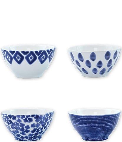 VIETRI Santorini Assorted Cereal Bowls Set of 4
