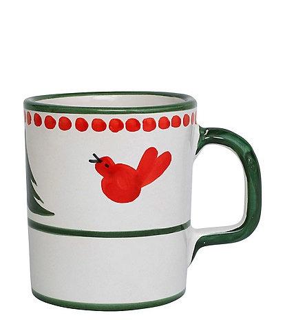 VIETRI Uccello Rosso Mug