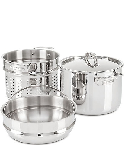 Viking 3-Ply Stainless Steel Multi-Pot, 8-Quart