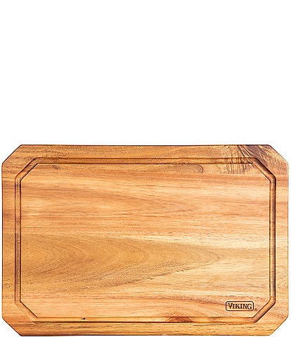 Viking Acacia Wood Carving Board with Juice Groove