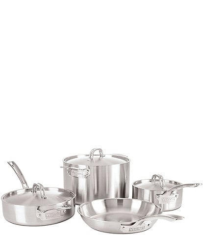Viking Professional 5-Ply Satin 7-Piece Stainless Steel Cookware Set