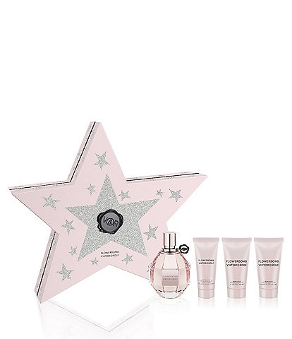 Viktor & Rolf Flowerbomb 4-Piece Holiday Gift Set for Women
