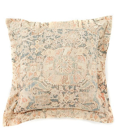 Villa by Noble Excellence Diedre Linen & Cotton Square Pillow