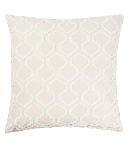 Villa by Noble Excellence Raw Edges Filled Euro Sham